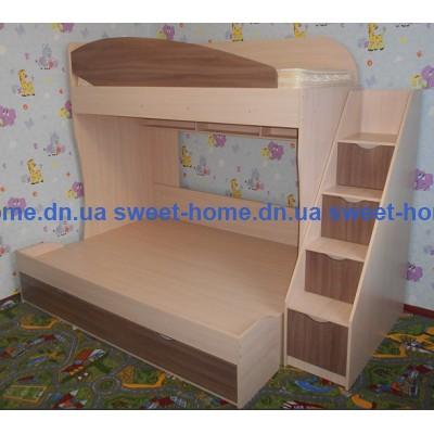 Кровать двухъярусная Семья
