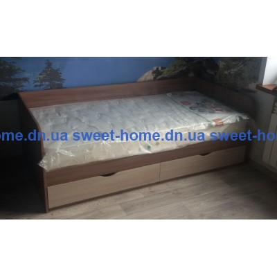 Кровать односпальная Елена с ящиками