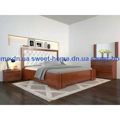 Деревянная кровать Амбер с подъемным механизмом