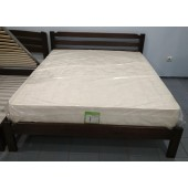 Скидка деревянная кровать Виктория+Матрас Магнат